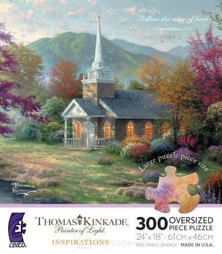 Thomas Kinkade Painter of Life Inspirations Series STREAMS of LIVING WATER (