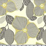 Free Spirit Fabrics Amy Butler Midwest Modern Optic Blossom Linen Fabric By The Yard