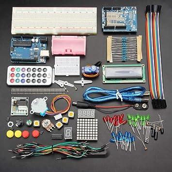 Yongse Kit de Aprendizaje de Base geekcreit uno r3 sin Version de ...