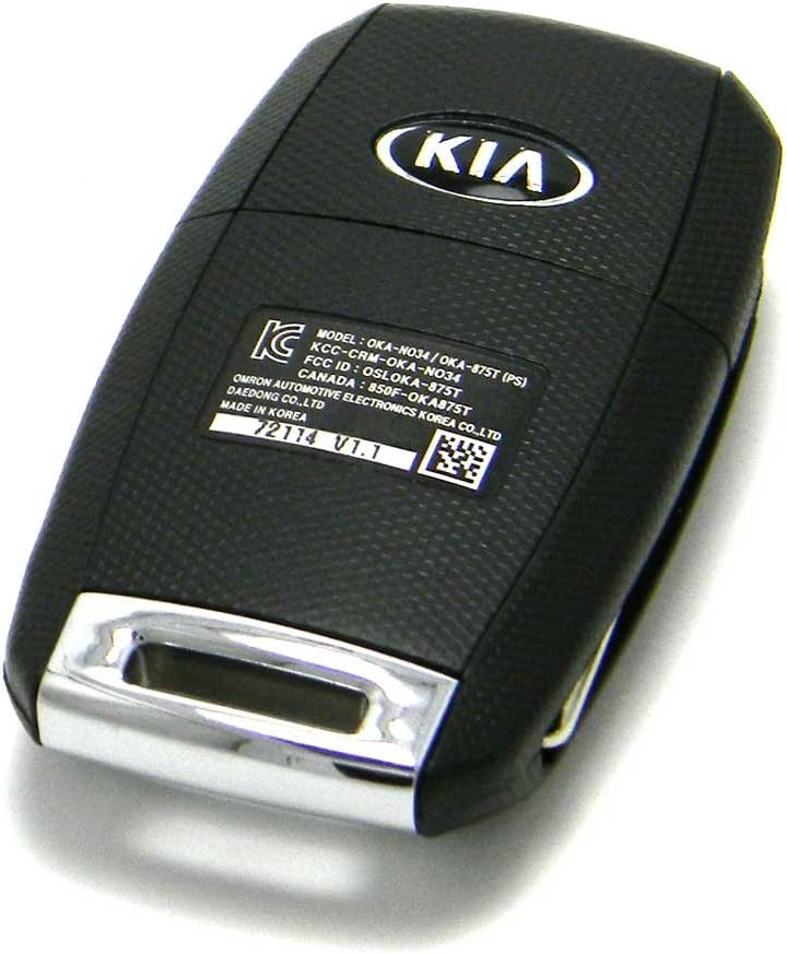 FCC ID: OSLOKA-875T OEM Kia Soul Flip Key Keyless Entry Remote Fob