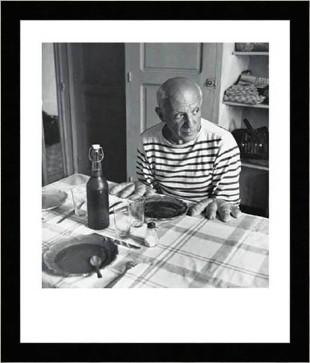 Robert Doisneau - Les Pains de Picasso Framed Art Print