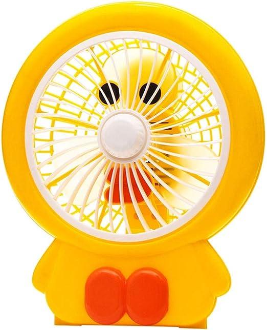 Ventilador de dibujos animados de mini caricatura Ventilador de ...