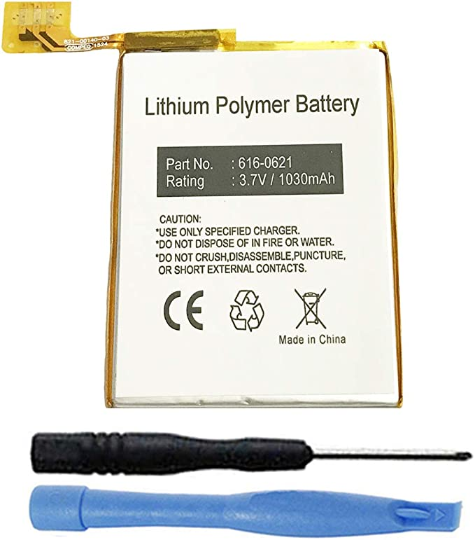 Batteries Portable Audio & Video Battery 800mAh Replace for Apple ...