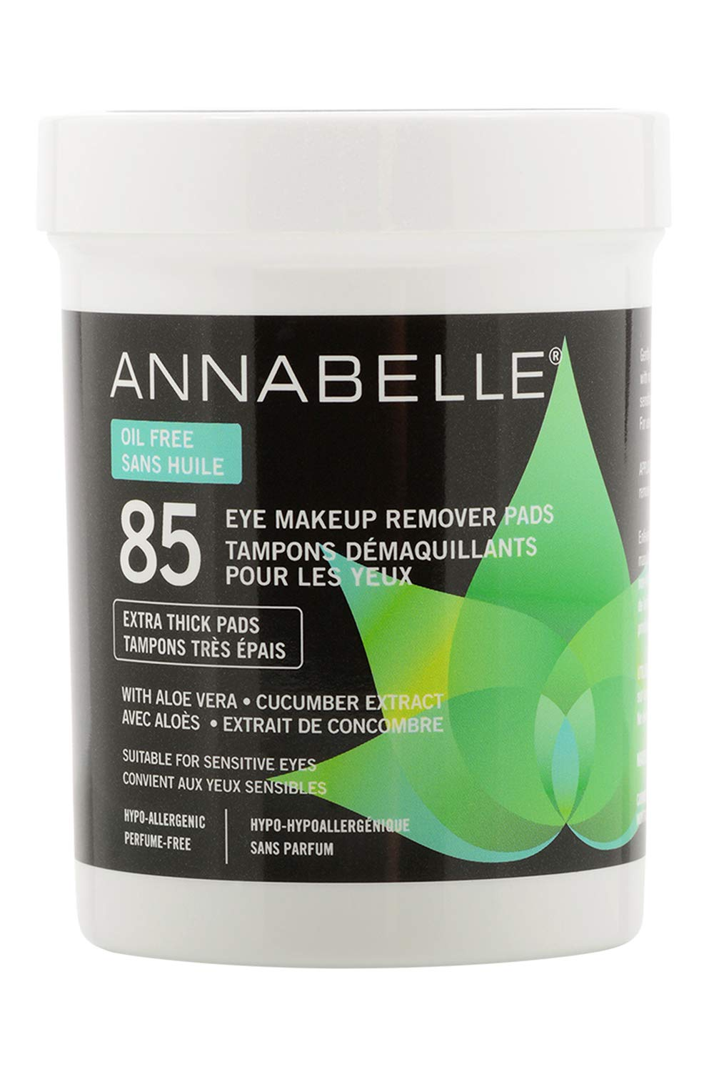 Annabelle Oil-Free Eye Makeup Remover Pads, 85 pads Groupe Marcelle Inc.