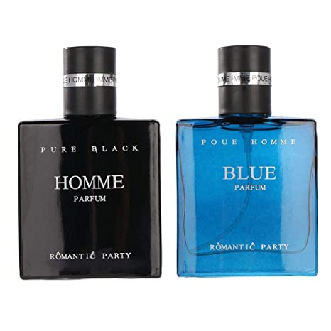 Men Cologne Perfume, 2 x 30 ml Bottle Men Perfume de Colonia Ocean Aroma Perfumer