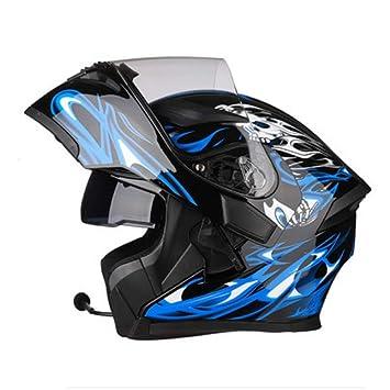 UK AIS 3.0 BLUETOOTH INTERCOM FLIP FRONT BIKE HELMET MOTORBIKE MOTORCYCLE HELMET