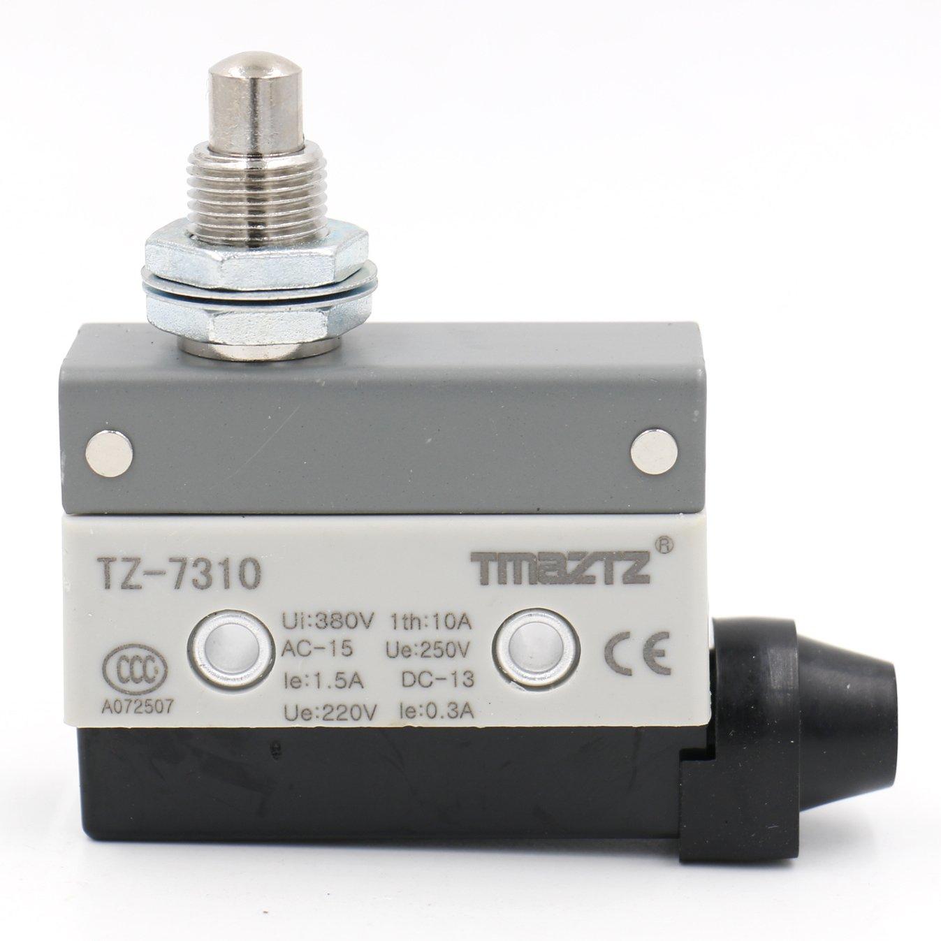 Heschen Horizontal limit switch TZ-7311 momentray parallel roller plunger AC 10A