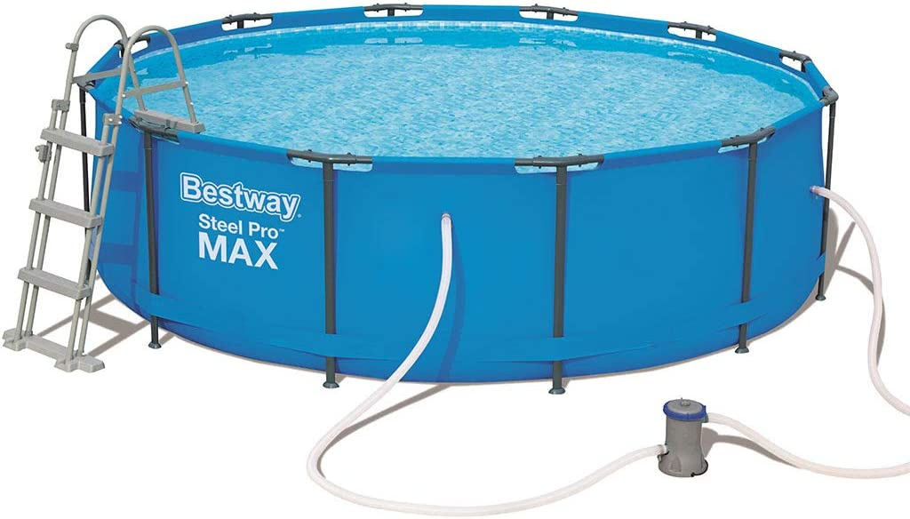 Bestway Steel Pro MAX Round Suelo, Blue: Amazon.es: Jardín