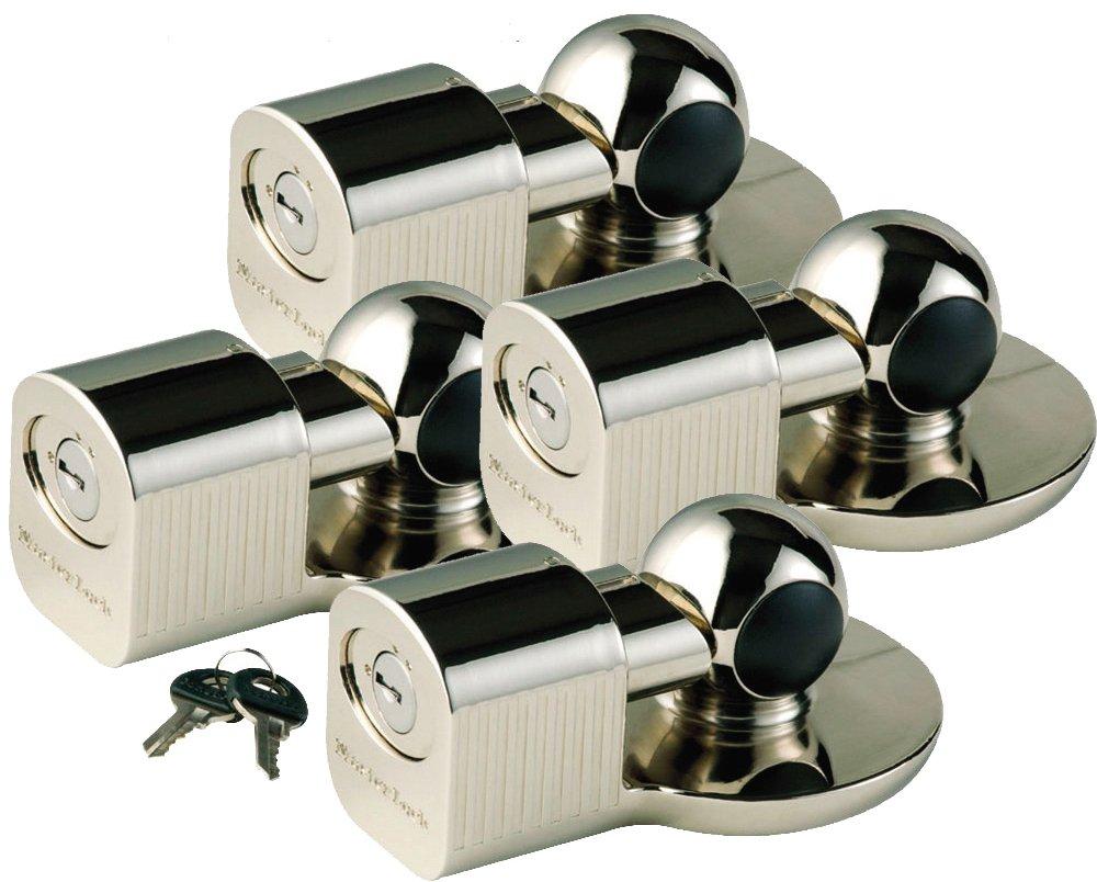 3 Keyed Alike Universal Trailer Coupler Locks 379KA-3 Master Lock