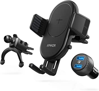 Anker PowerWave 7.5W & 10W Quick Charge Wireless Car Charger