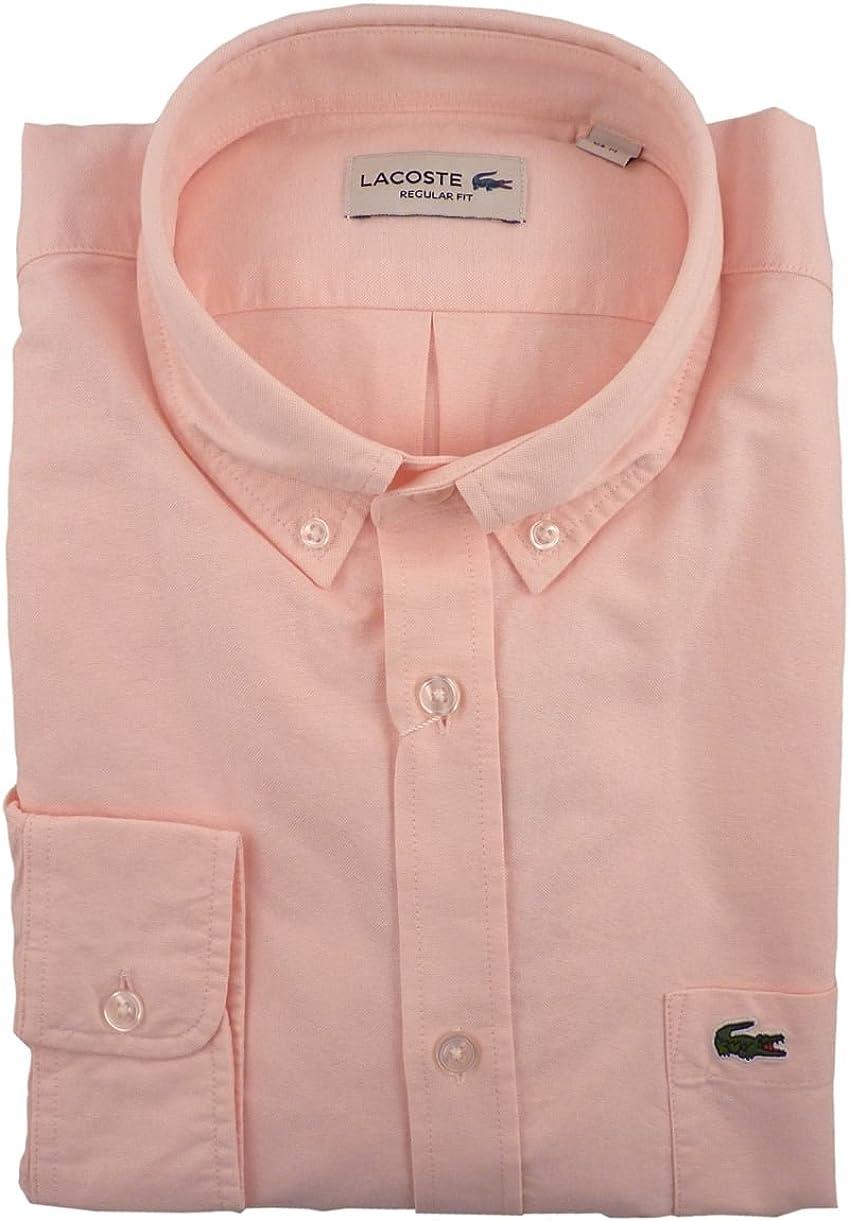 Lacoste Oxford Classic-Camisa Hombre: Amazon.es: Ropa y accesorios