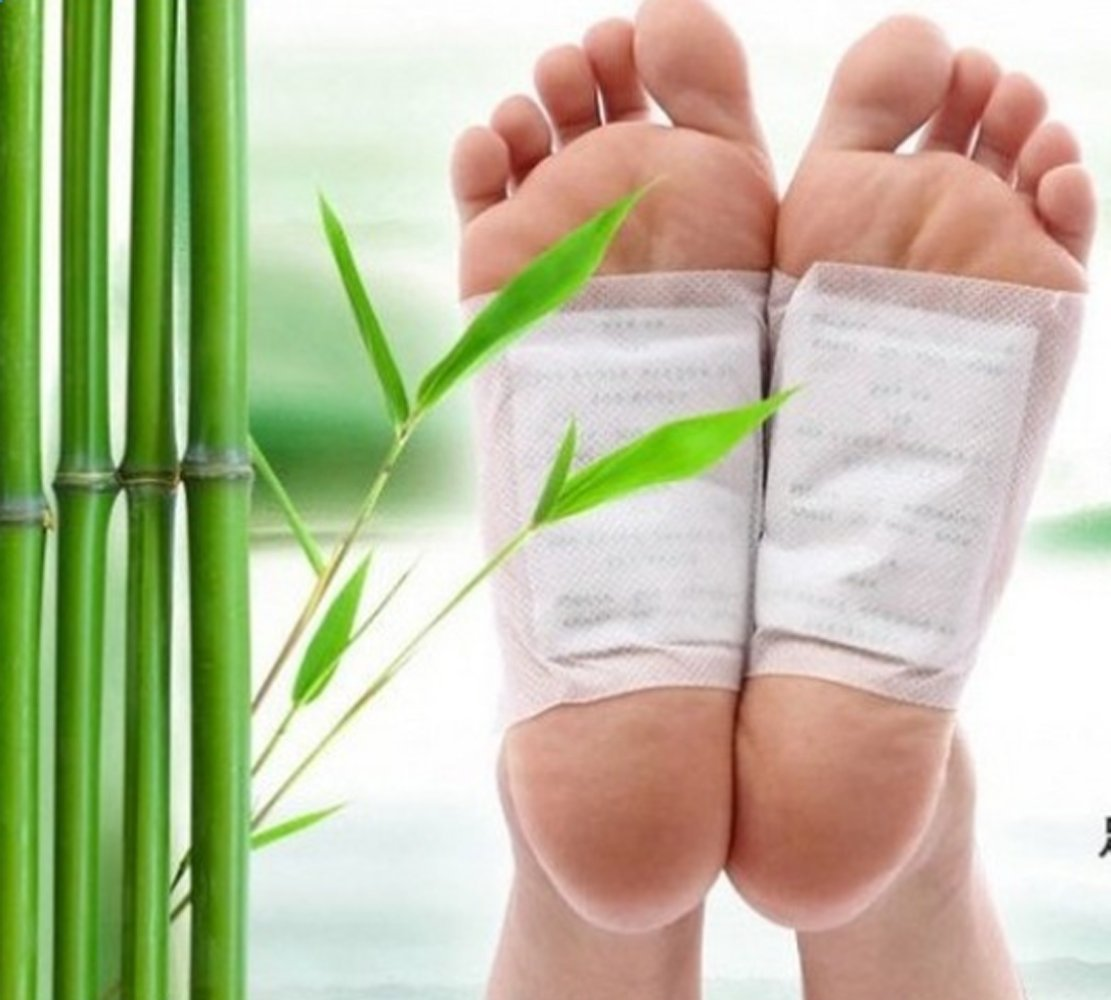 careshine 100Natural desintoxicación almohadillas de pie con ajuste adhesivo parche evitar Toxinas plantilla todos los producto de cuidado de la salud natural. Aliviar la fatiga, mejorar dormir