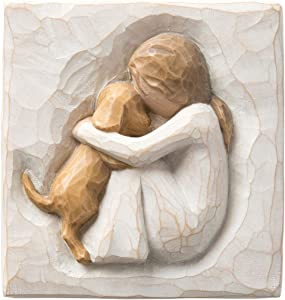 Willow Tree True Plaque, Sculpted Hand-Painted bas Relief