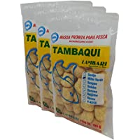 Massa Macarrãozinho Cozido Pronto p/ Pesca Tambaqui Sabor Milho Verde 100g 3UN