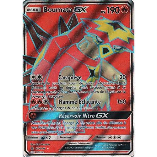 "Carte Pokémon ""Boumata GX"" 131/145 SL2 - Full Art"