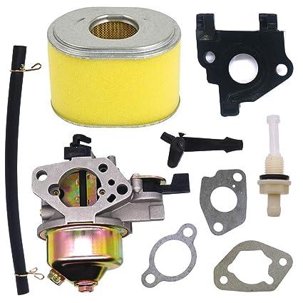 Amazon com : FitBest Carburetor with Air Filter Fits Honda