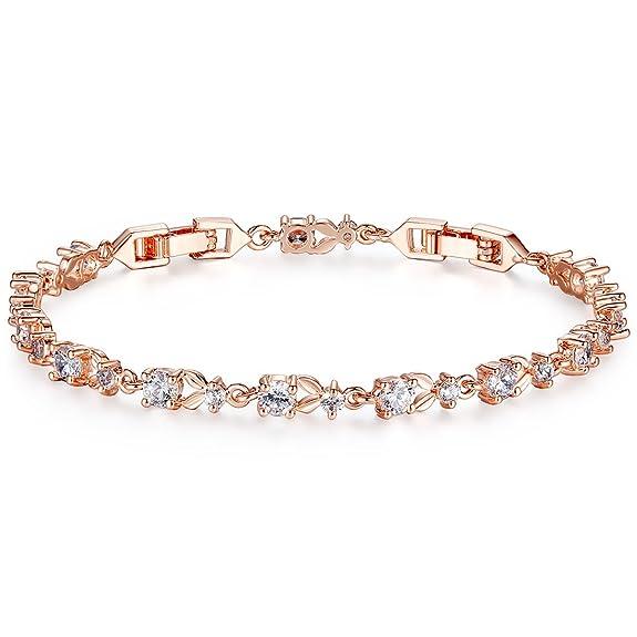 Bien connu Bracelet or rose femme luxe Slender - Promos en or DE64