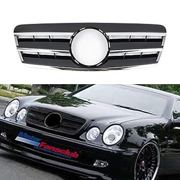 Parrilla para Benz W208 CLK Three FINS CLK320 CLK430 estilo ...