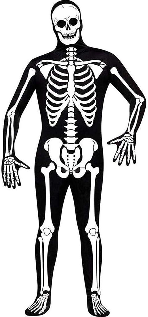 Skeleton 2nd Skin Morph Suit Size Medium