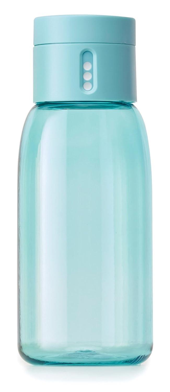 Joseph Joseph Dot Hydration Tracking Water Bottle, 400 Ml, Turquoise by Amazon