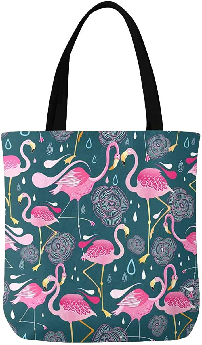 InterestPrint Flamingo Bird...
