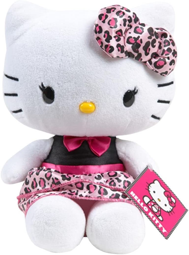 Hello Kitty Medium Plush Leopard Print Dress