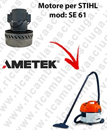 Si 61 Motor Aspiración Ametek Para Aspiradora STIHL: Amazon.es ...