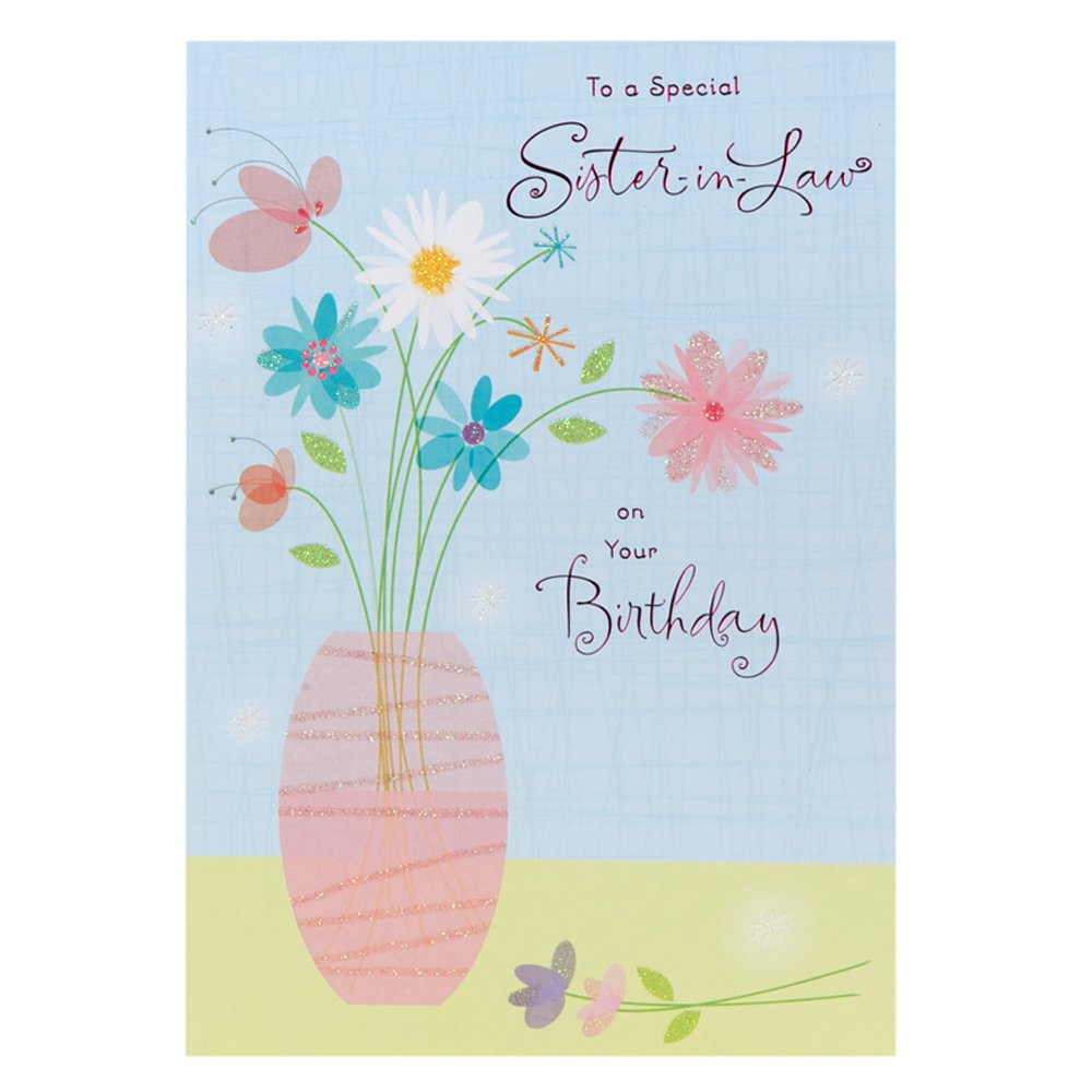 Hallmark Birthday Card For Sister In Law Especially For You