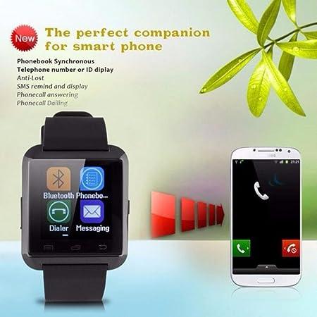 U8 Bluetooth Smart Watch, Sports Smart Fitness Smartwatch Soporte ...