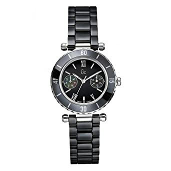 5b94a36ffd5b4 Montre Guess Collection Gc Diver Chic I35003l2s Femme Noir: Amazon ...