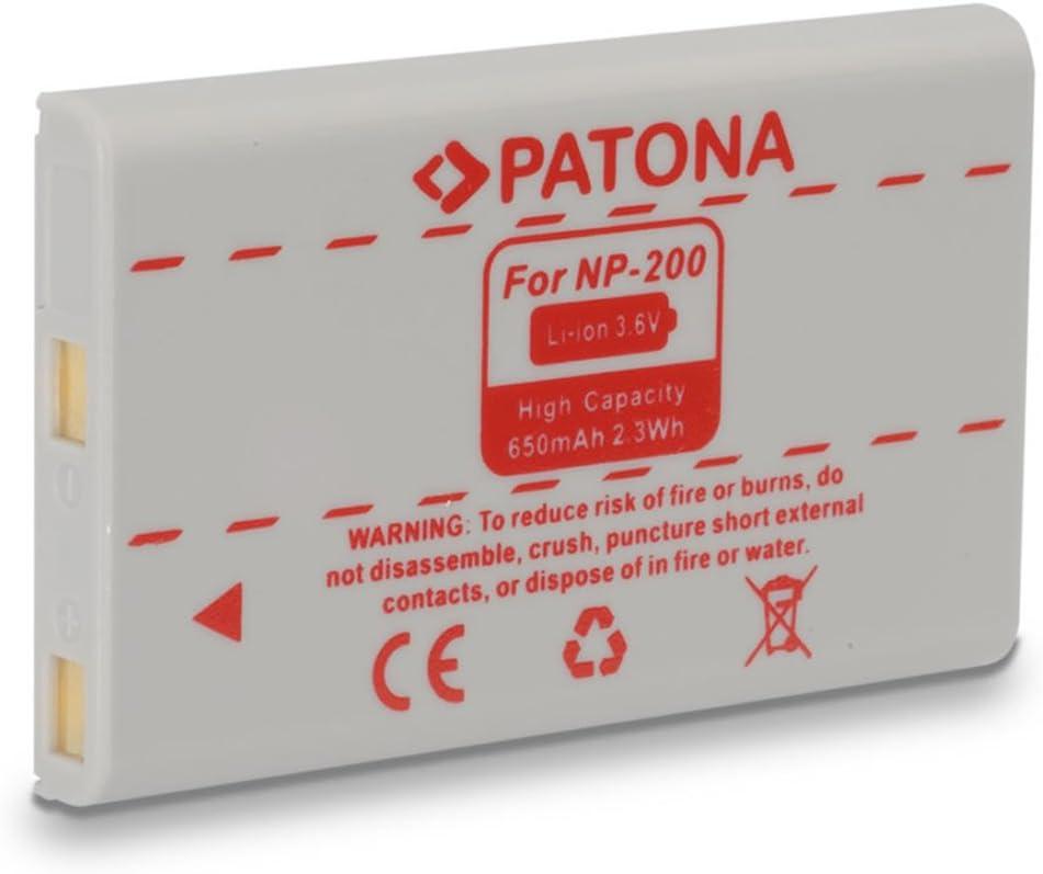 Akku wie Konica Minolta NP-900 800mAh 3,6V Li-Ion