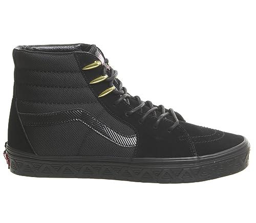 e1b95fd66f9 Vans Sk8 Hi Black Panther Marvel - 5 UK  Amazon.co.uk  Shoes   Bags