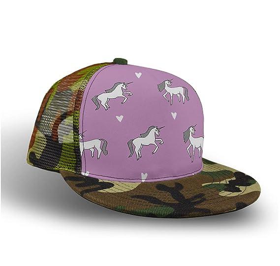 61a7142dd87 Amazon.com  Kids Men   Women Baseball Cap Hip-Pop Mudder Trucker Hat ...