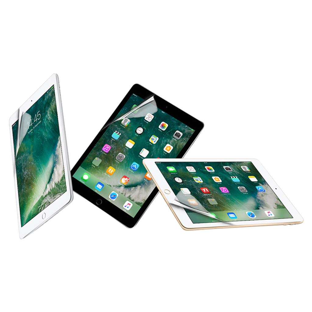 5 St/ück F/ür iPad 10.2 2019 Schutzfolie,Colorful Soft Hydrogel Schutzfolie HD Ultra-klare Transparenz TPU Displayfolie f/ür iPad 10.2 2019