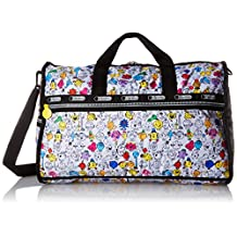 Lesportsac X Mr. Men Little Miss Large Weekender Duffle Bag, MR. MEN AND LITTLE MISS, One Size