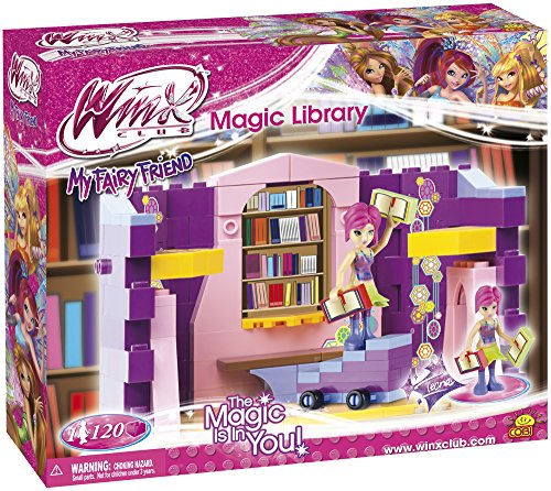 WINX Club /25121/ MAGIC LIBRARY 120 building bricks by COBI