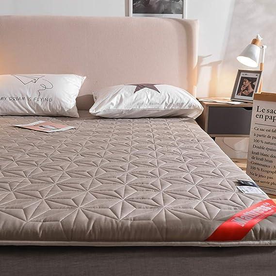 ACZZ Cojín de colchón de tatami grueso, dormitorio ...