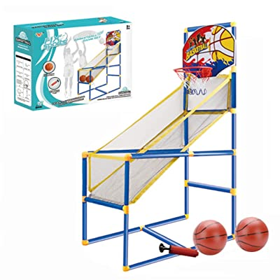 Basketball Circle Arcade Game 15.74x31.5x47.63in | Toddler Toys Outdoor | Indoor Basketball Boy Birthday Gift for 5-10 Years Old Kid- Ship From US!!: Video Games