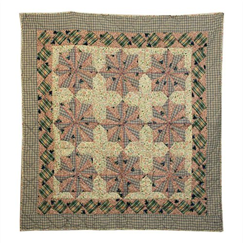 Patch Magic Snowflake Star Throw, 50 by 60-Inch ()