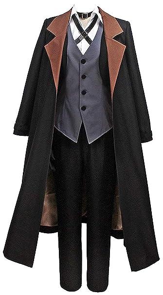 Amazon.com: LYLAS Cosplay Disfraz de Hombre Negro Larga ...