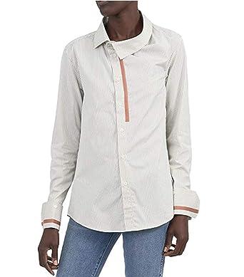 6dd9f48f6 Palmer Harding White Striped Wayward Button Down Shirt (UK 6 / US 0-2