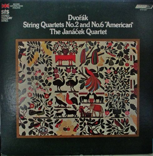 (THE JANACEK QUARTET DVORAK NO. 2 & 6