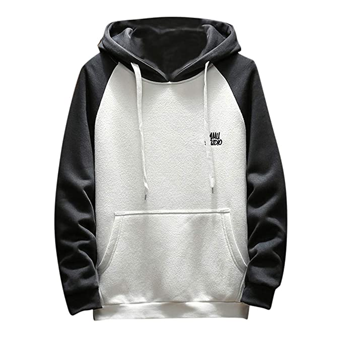 98596f504f75 Amazon.com  Personality Handsome Autumn Winter Men Hoodies