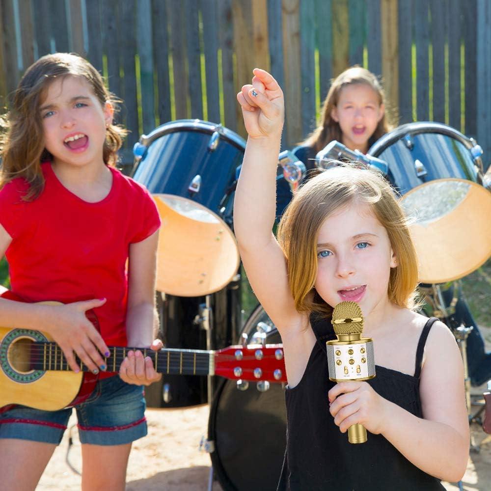 Child Girls Boys Microphone Mic Karaoke Singing Kids Funny Music Toy Gift Fun ZH