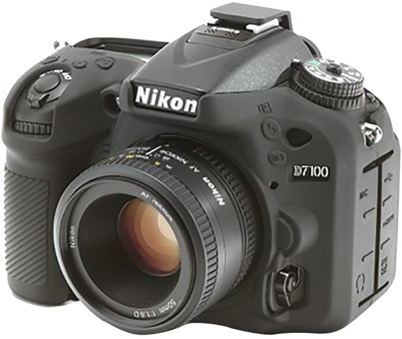 Easycover ECND7100 - Funda de Silicona para Nikon D7100, Color ...