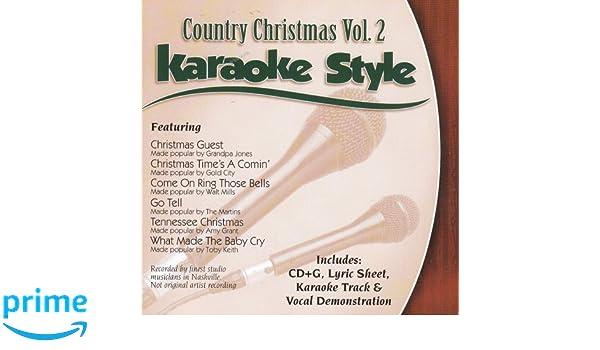 Country Christmas Volume #1 Christian Daywind Karaoke Style Cd+g Karaoke Karaoke Cdgs, Dvds & Media Karaoke Entertainment