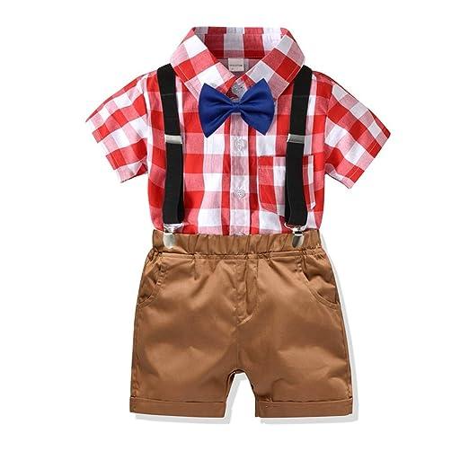 Juego de manga corta Summer Boys Conjunto de camiseta y pantalones ...