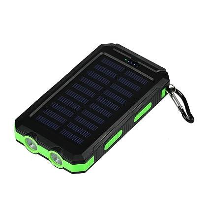 Amazon.com: iMeshbean Cargador solar, 200 mAh, resistente al ...