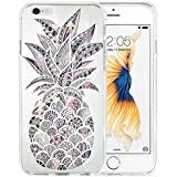 iPhone 7 Case TPU Non-Slip High Definition Printing Personalized Graffiti pineapple