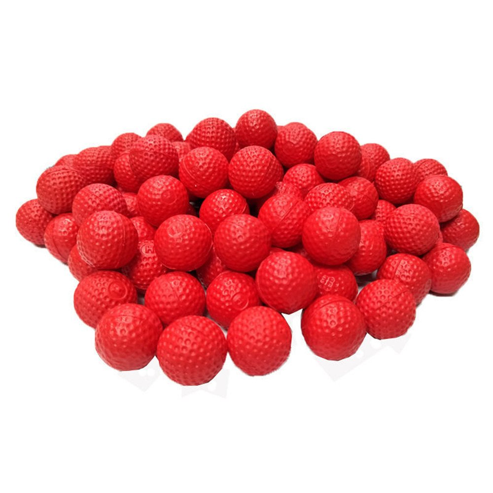 100 Rounds Foam Bullet Balls for Nerf Rival Apollo Zeus Refill Toy Compatible Ammo Refill Pack for Nerf Rival Guns (Red) SEX POINT